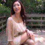 【小早川玲子】SEXのポテンシャルが凄い小早川玲子がHな下着で野外ファック‼