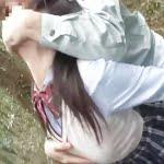 <JK×即ハメ>山林で美少女女子高生をいきなり強姦!!手マンで潮吹き・イラマチオでむせび泣く少女をヤリ捨てする鬼畜男たち