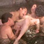<人妻×NTR>夫との温泉旅行で仲良くなりイチャつく男性客に泥酔して次から次へと寝取られる巨乳の淫乱不貞妻!【冴島かおり】