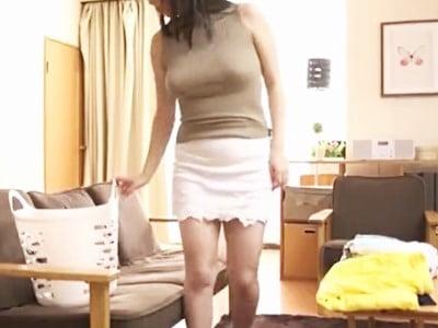 【完全着衣】巨乳ノーブラニットの女たち