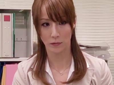 罠にハメられた熟女OL(澤村レイコ)