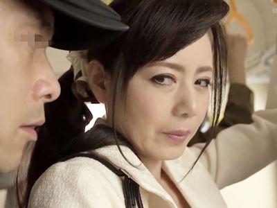 人妻凌●痴●電車~繰り返される通勤猥褻に溺れて~ 三浦恵理子